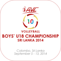 2014 Asian Youth Boys Volleyball Championship logo.png