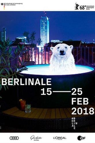 68th Berlin International Film Festival - Festival poster