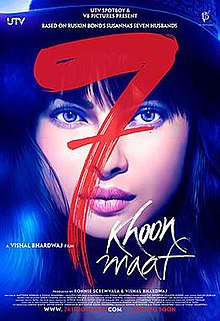 7 Khoon Maaf - Wikipedia, the free encyclopedia