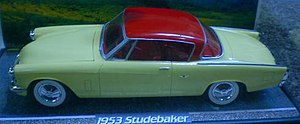 Aluminum Model Toys - A built version of the 1953 Studebaker Commander. The 3-in-1 kit was first issued about 1965 and has been reissued several times since.