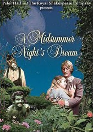 A Midsummer Night's Dream (1968 film) - Theatrical release poster