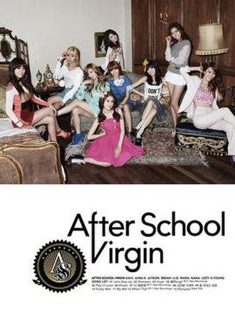 Virgin (After School album) - Image: After school virgin cover