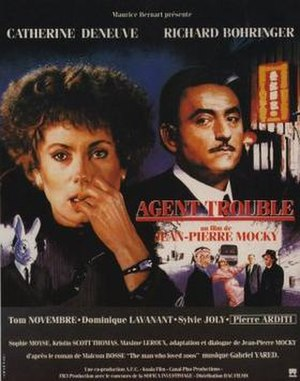 Agent trouble - Image: Agent trouble poster