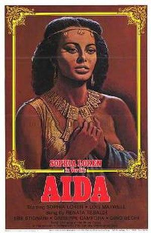 Aida (1953 film) - Original film poster