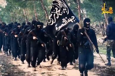 Al-Nusra Front fighters, Syria