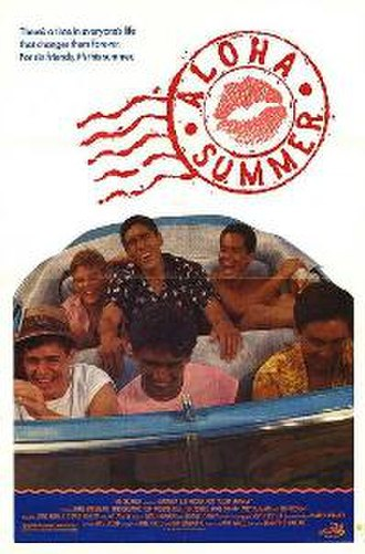 Aloha Summer - Theatrical release poster