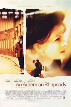 An American Rhapsody - Promotional release poster