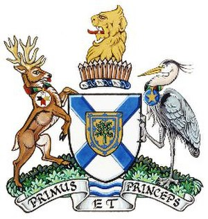 Annapolis County, Nova Scotia - Image: Annapolis county coat of arms