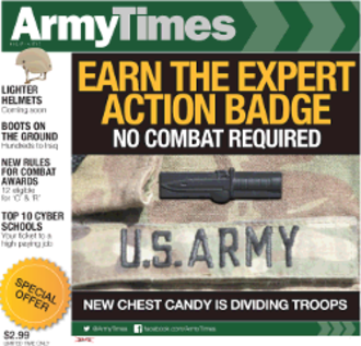 Army Times - Army Times cover 10 April 2017