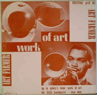 The Art Farmer Septet - Image: Art Farmer Work of Art cover 10""