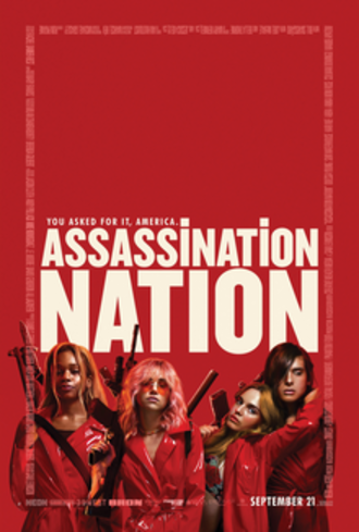 Assassination Nation - Theatrical release poster
