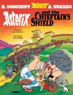 <i>Asterix and the Chieftains Shield</i> comic book album
