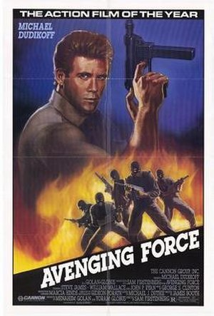 Avenging Force - Theatrical release poster