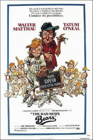 The Bad News Bears - Theatrical release poster by Jack Davis