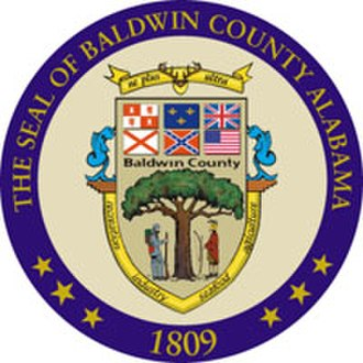 Baldwin County, Alabama - Image: Baldwin County al seal