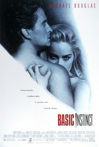 Basic Instinct - Theatrical release poster