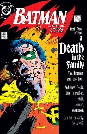 Robin (character) - Image: Batman 428