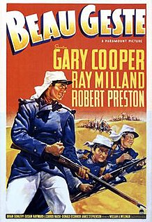 <i>Beau Geste</i> (1939 film) 1939 film by William A. Wellman