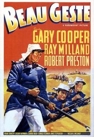 Beau Geste (1939 film) - Original theatrical poster