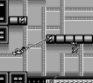 Bionic Commando (Game Boy) - Image from the Game Boy game