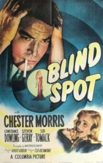 Blind Spot (1947 film) - Theatrical release poster
