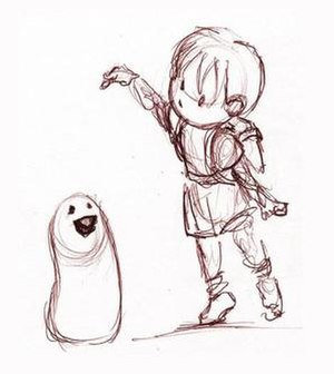 A Boy and His Blob - Image: Boy Blob Concept