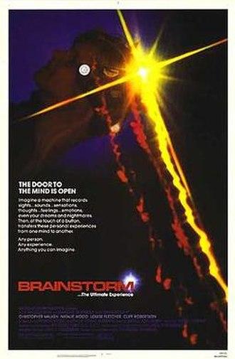 Brainstorm (1983 film) - Film poster