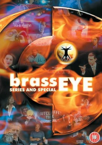 Brass Eye - UK DVD cover