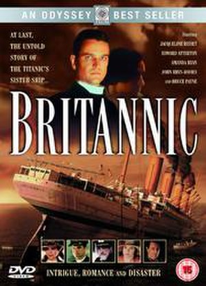 Britannic (film) - UK DVD art for Britannic