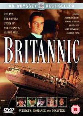 Britannic (film) - UK DVD cover art for Britannic
