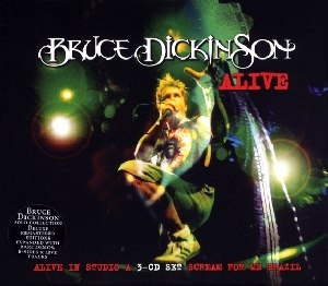 Alive (Bruce Dickinson album) - Image: Bruce Dickinson Alive cover