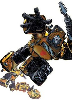 Bumblebee (<i>Transformers</i>) character from the Transformers franchise