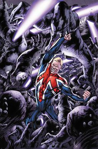 Captain Britain - Image: C Bandmi 13 6