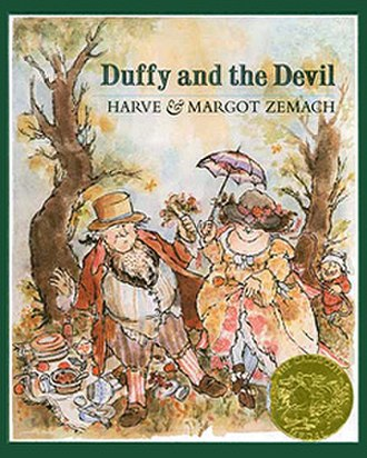 Duffy and the Devil - Front cover with Caldecott Medal seal