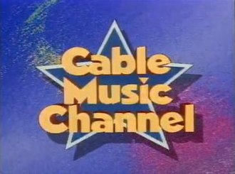 Cable Music Channel - Image: Cable Music Channel 1984