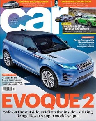 Car (magazine) - Car (UK), January 2019