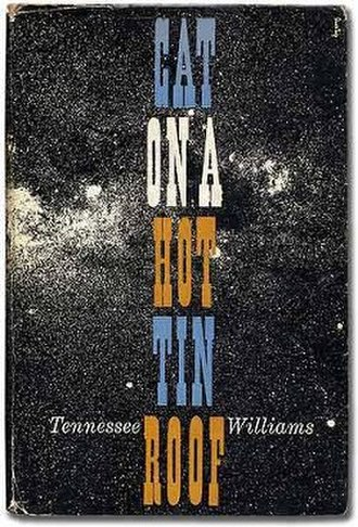 Cat on a Hot Tin Roof - First edition cover (New Directions)