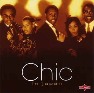 Live at the Budokan (Chic album) - Image: Chic Live In Japan