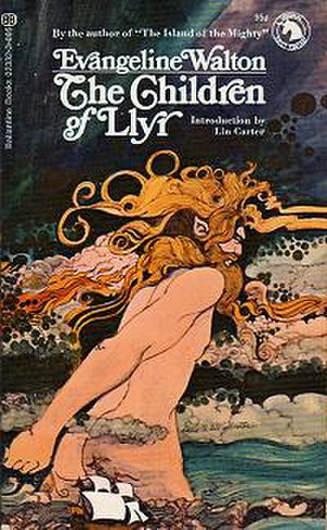 The Children of Llyr - Cover of first edition