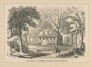 Cornelius Harnett - Harnett's house, Poplar Grove, near Wilmington, North Carolina
