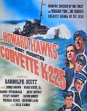 Corvette K-225 - 1943 Theatrical poster