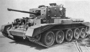 Bill Bellamy (British Army officer) - A Cromwell Tank