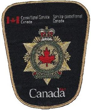 Correctional Service of Canada - Image: Cscpatch