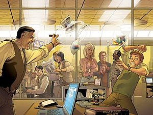 Daily Planet - Image: Daily Planet Staff