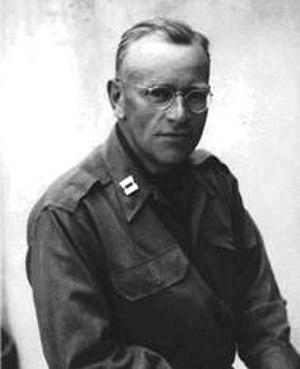 Deane Keller - Deane Keller while a U.S. Army Captain, c. 1945