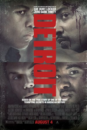 Detroit (film) - Theatrical release poster