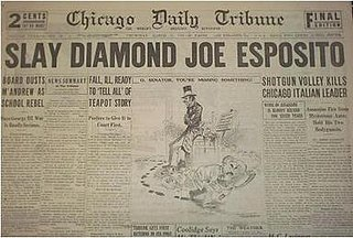 Joe Esposito (mobster) Chicago mobster and politician