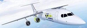 Airbus E-Fan X - Image: E Fan X 3D graphic