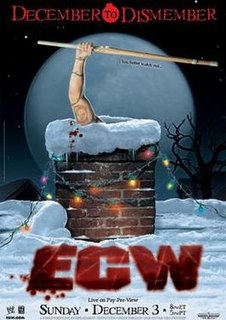 December to Dismember (2006) 2006 World Wrestling Entertainment pay-per-view event