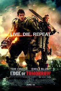 <i>Edge of Tomorrow</i> 2014 science-fiction film directed by Doug Liman
